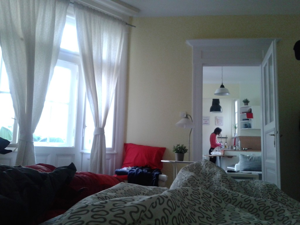 Our apartment in Budapest