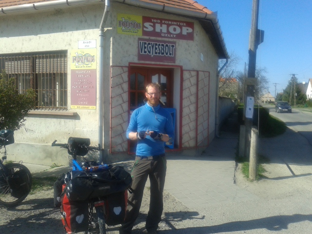 A corner shop somewhere in Hungary. You get everything you need there.