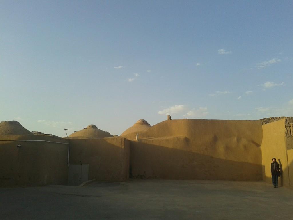 Clay walls in Yazd