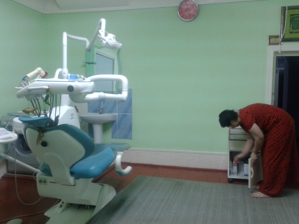 Fully equiped dentists clinic