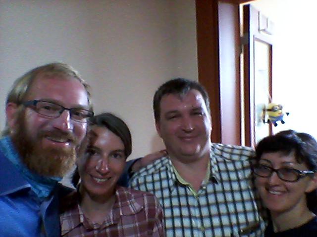 Me, Cora, Tim and Marina