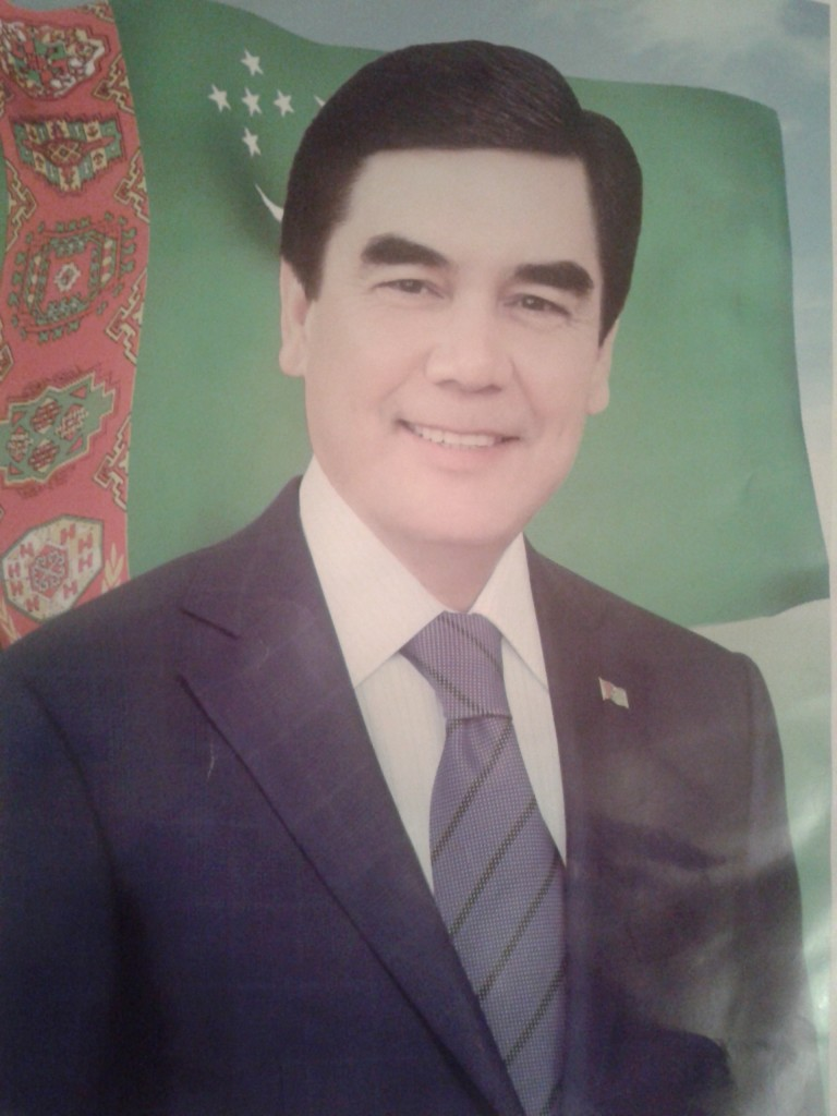You have been in Turkmenistan, if you know this guy