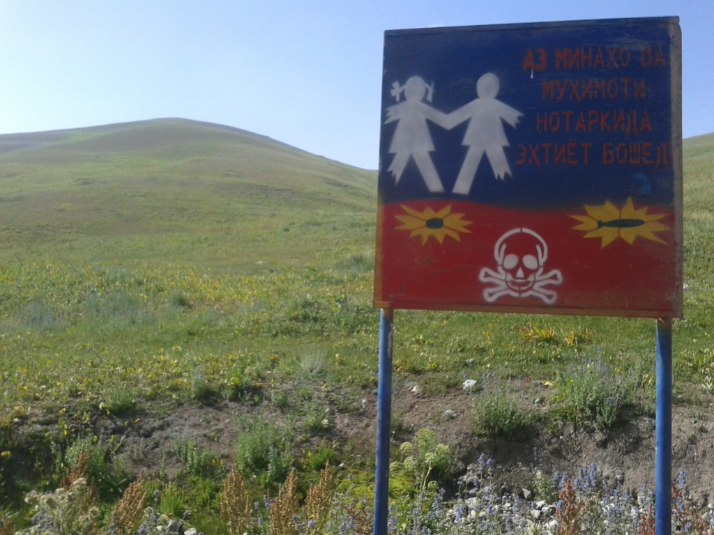 There are still mines at the Sagirdasht Pass