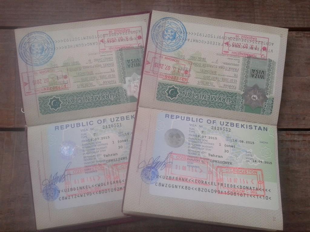 Turkmen and Uzbek viisa
