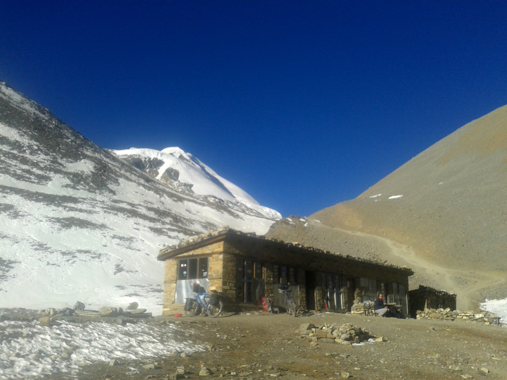 The tea house on around 5200m