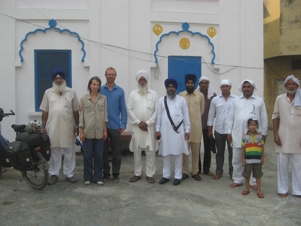 Chief Sikh 5th from left