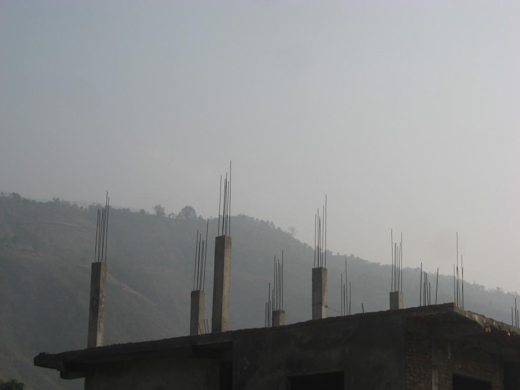Nepal rises