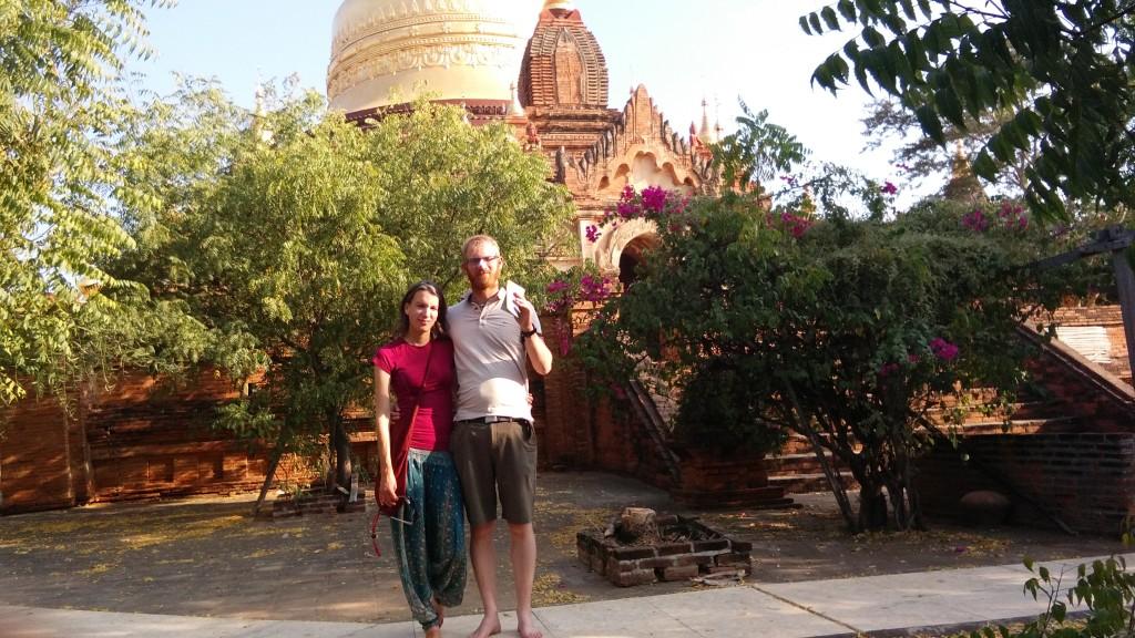 Golden Pagoda - Bagan, Myanmar