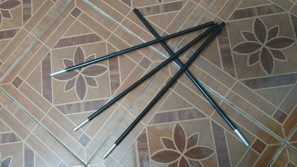 Exped tent poles