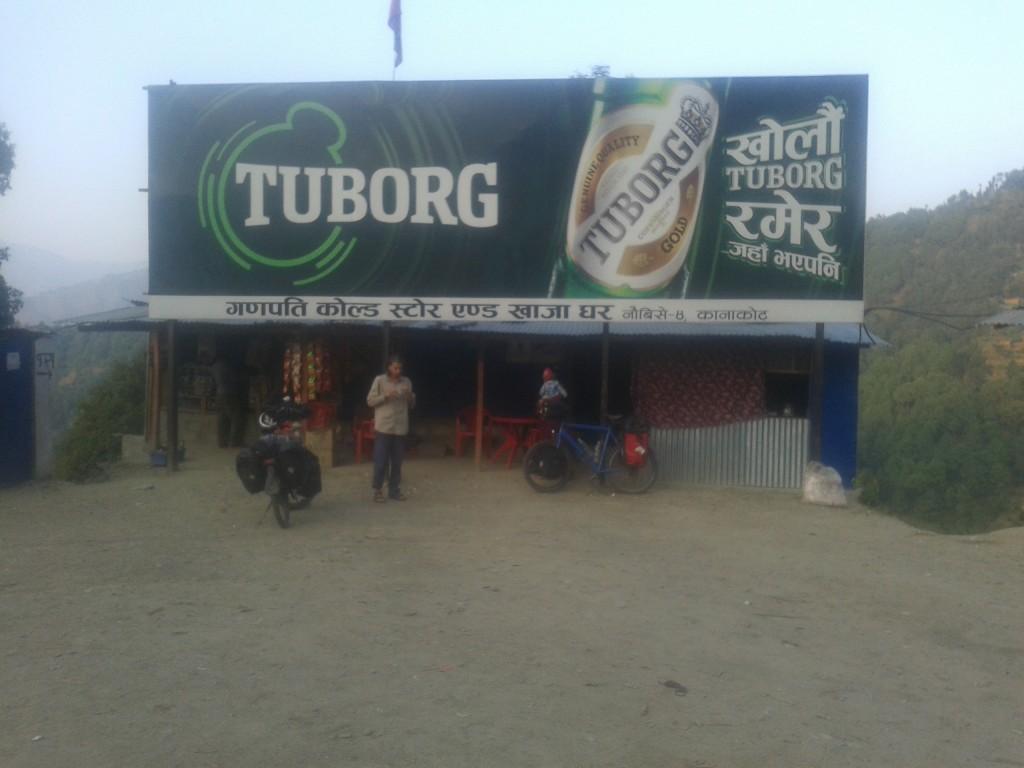 Wer die Welt kennt, kennt Tuborg - Nepal