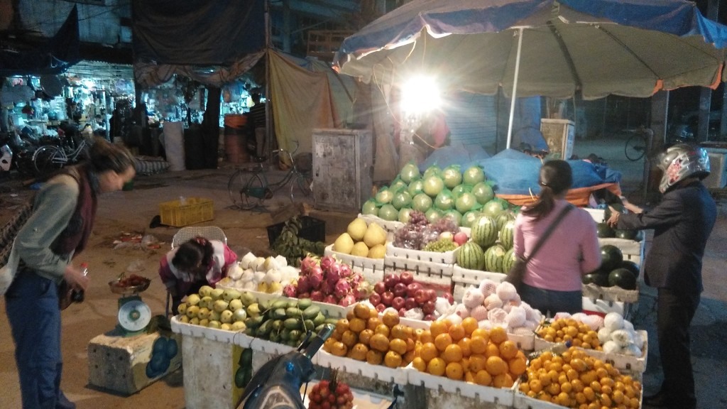Market in Dien Bien Phu