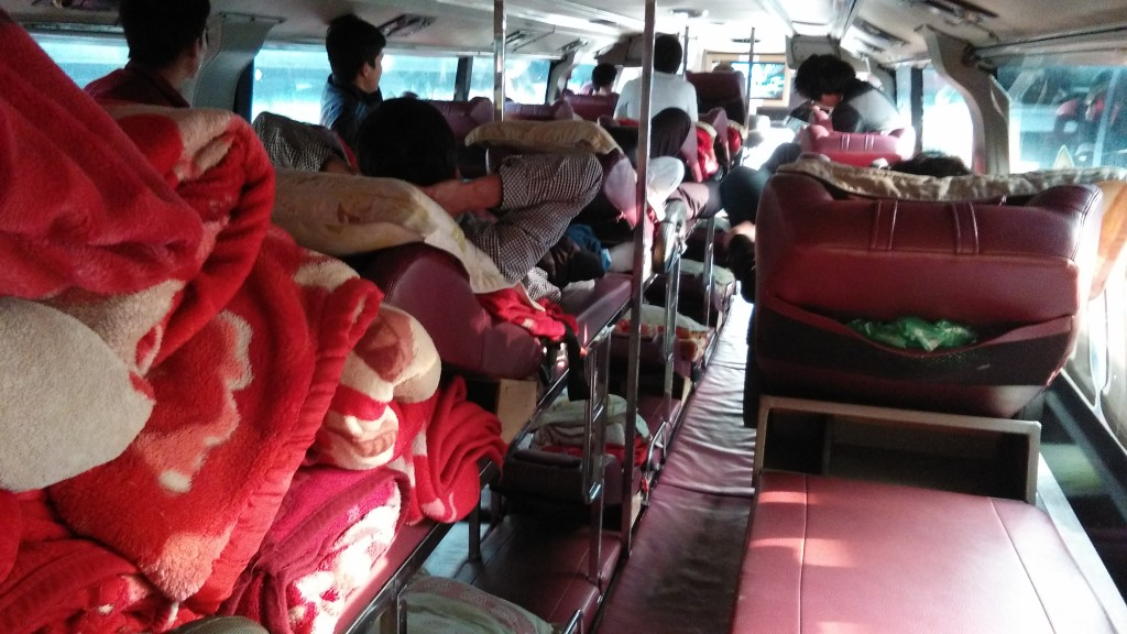 Bus to Hanoi