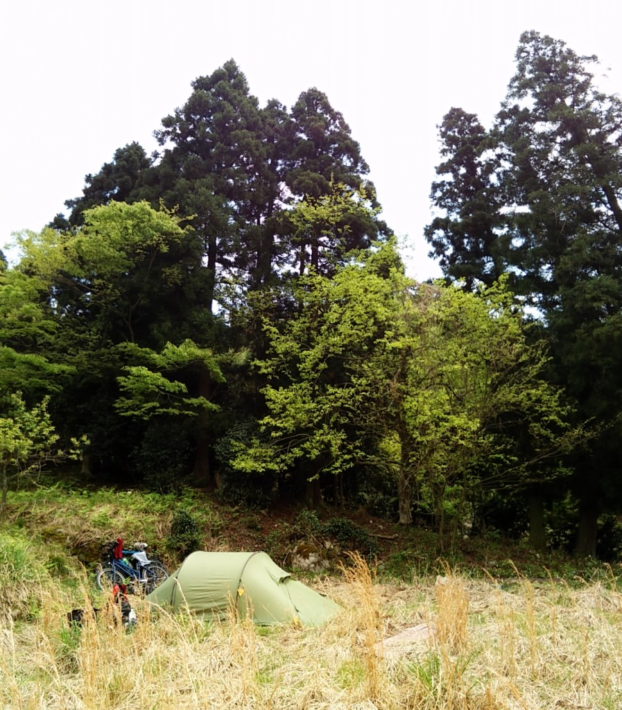 Camping close to Tsuruga