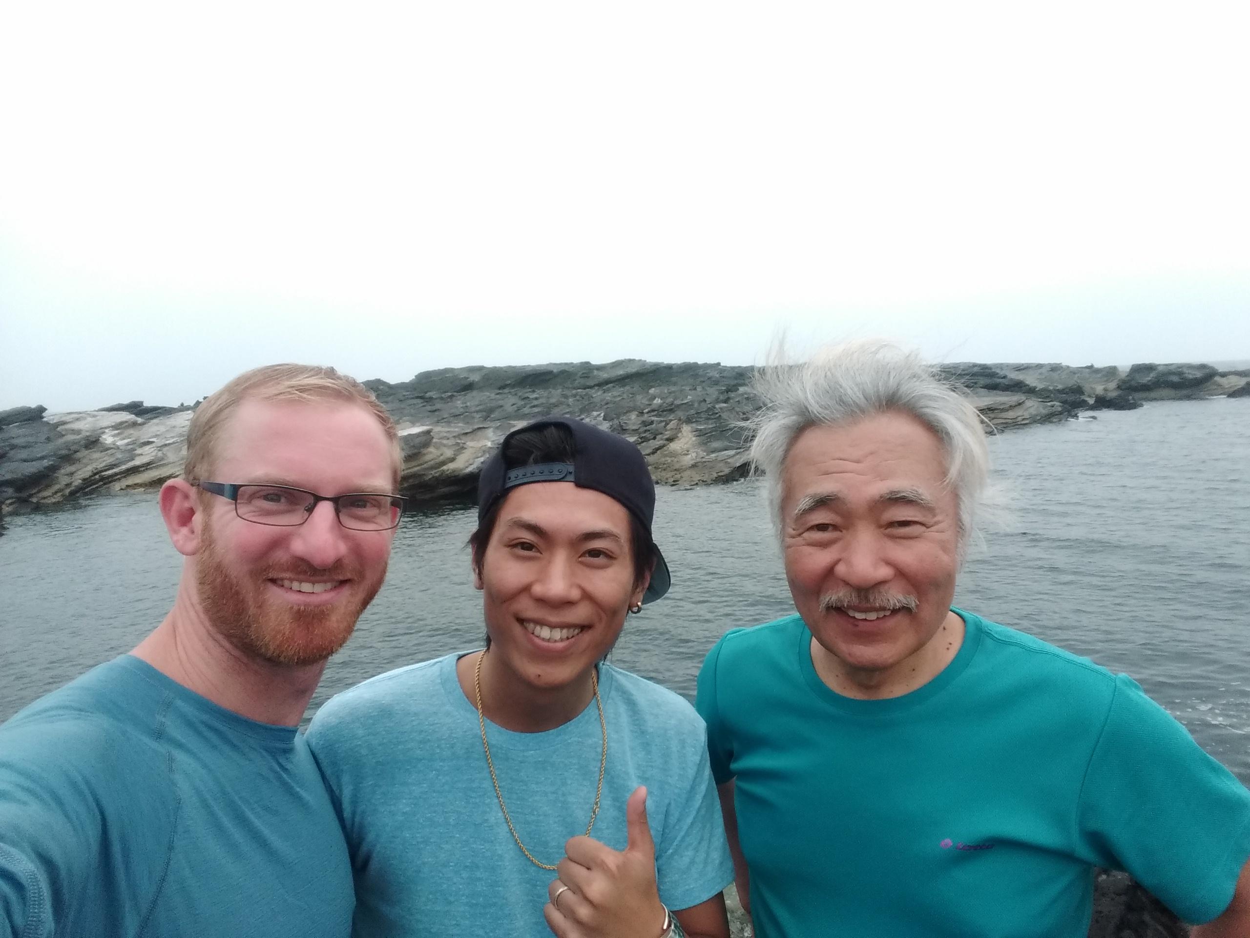 Me, Kyo and Hitoshi