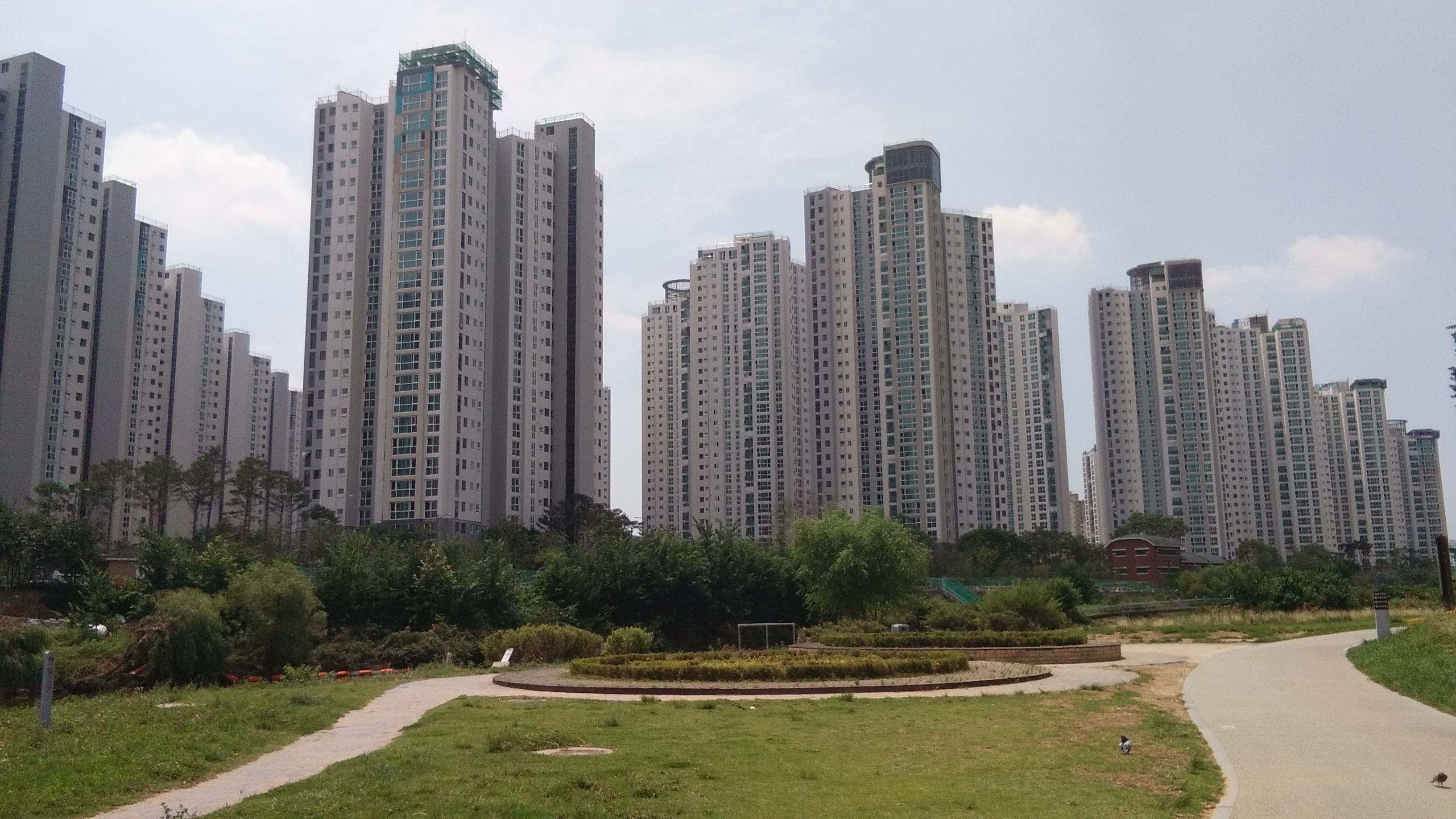 Seoul suburbs