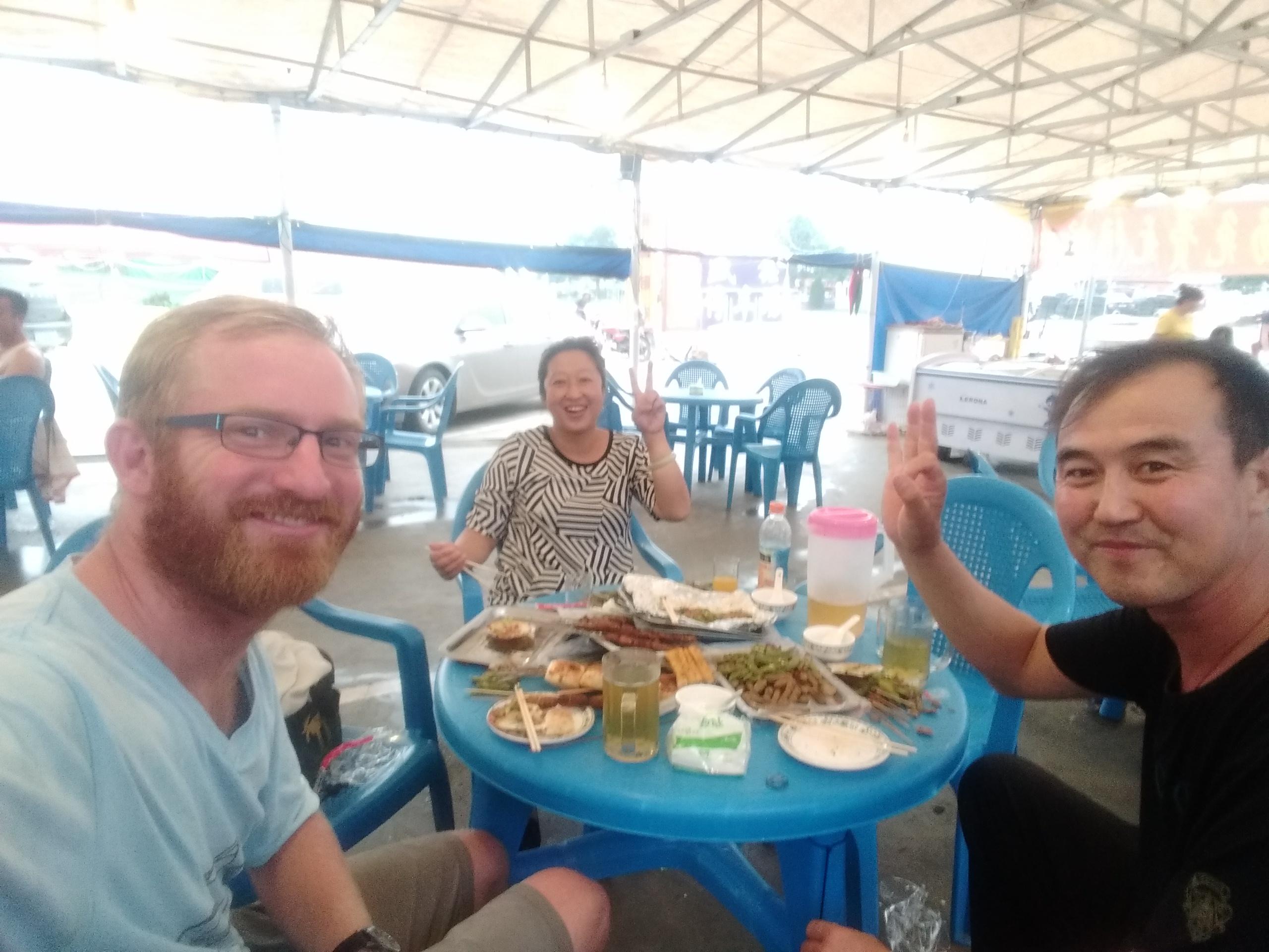 Nazoom and Ginger invited me for Dinner
