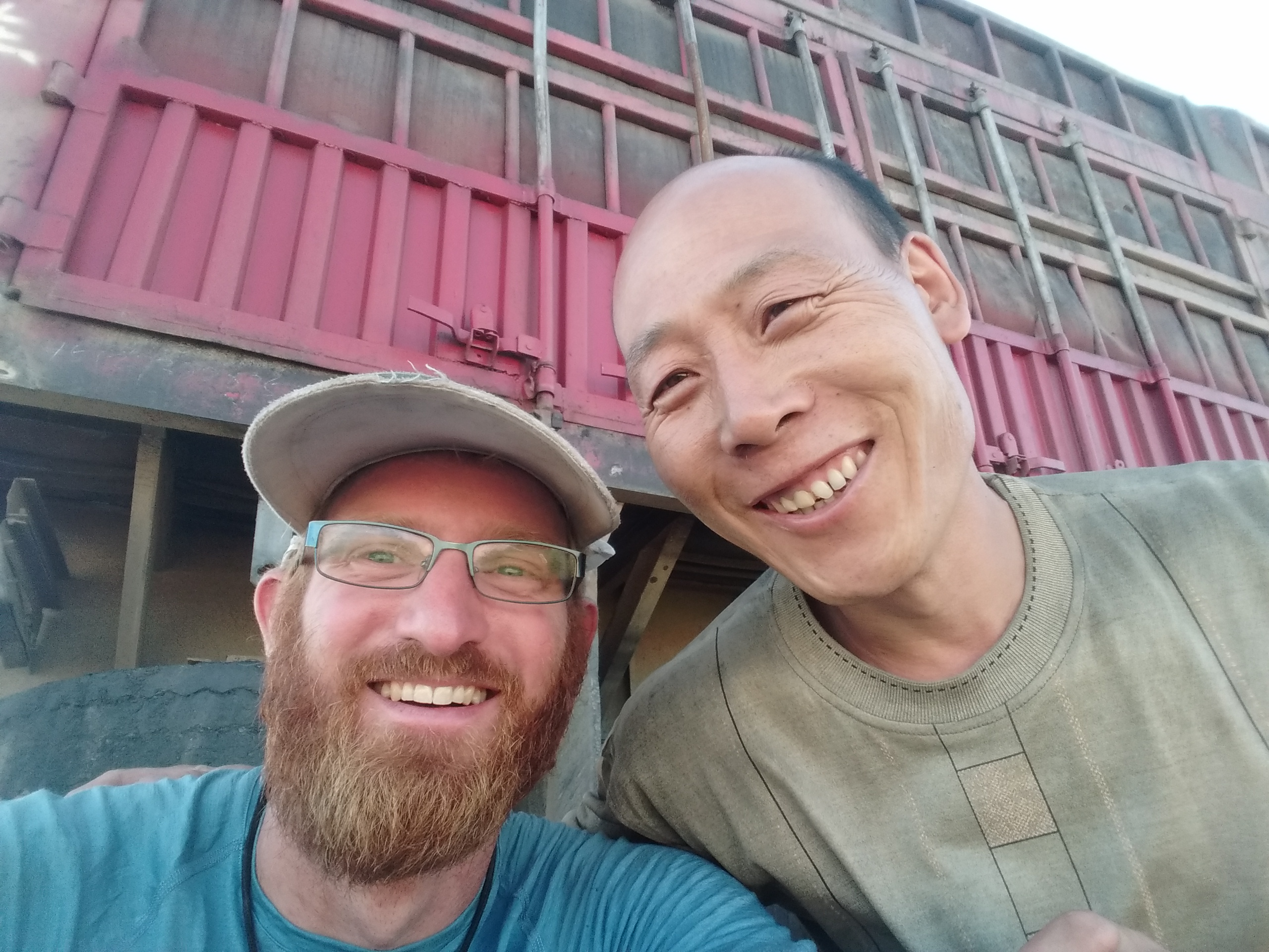 This guy offered to take me to Ulan Bator with his truck, but being a Guru I refused and chose to suffer instead.