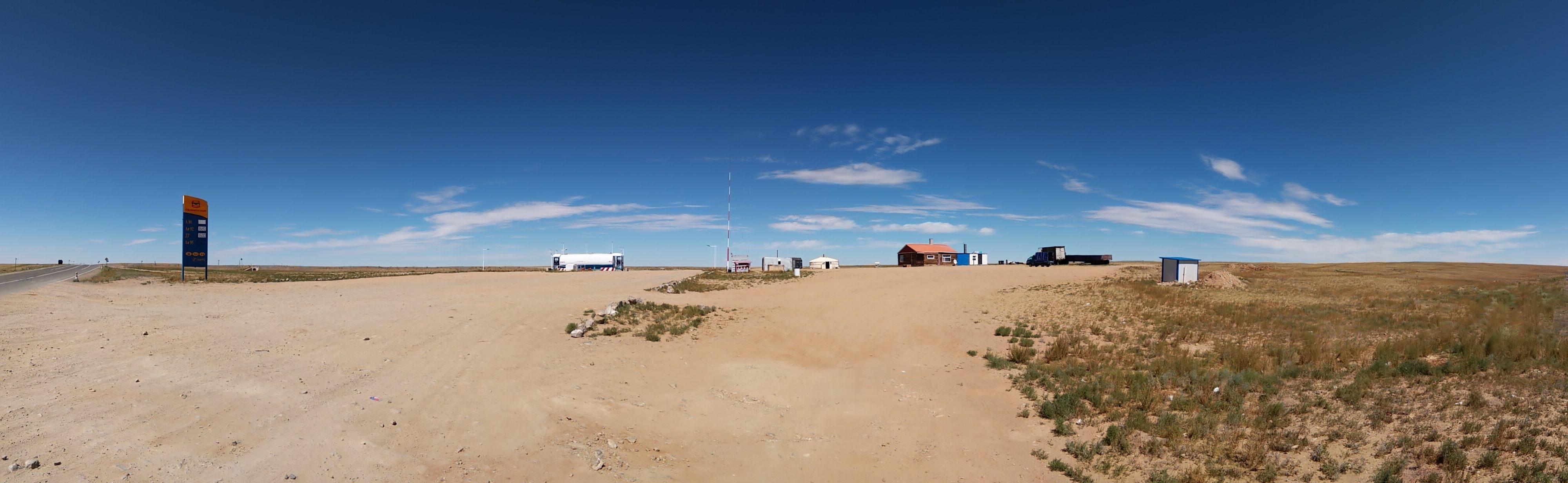 km 107 - gas station