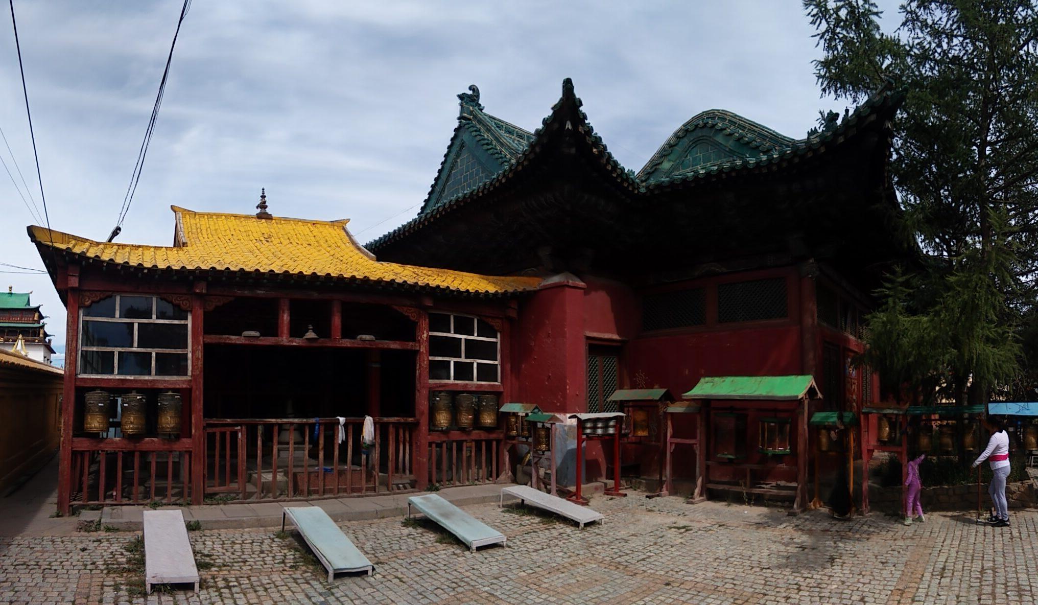 Temple in Ulan Bator