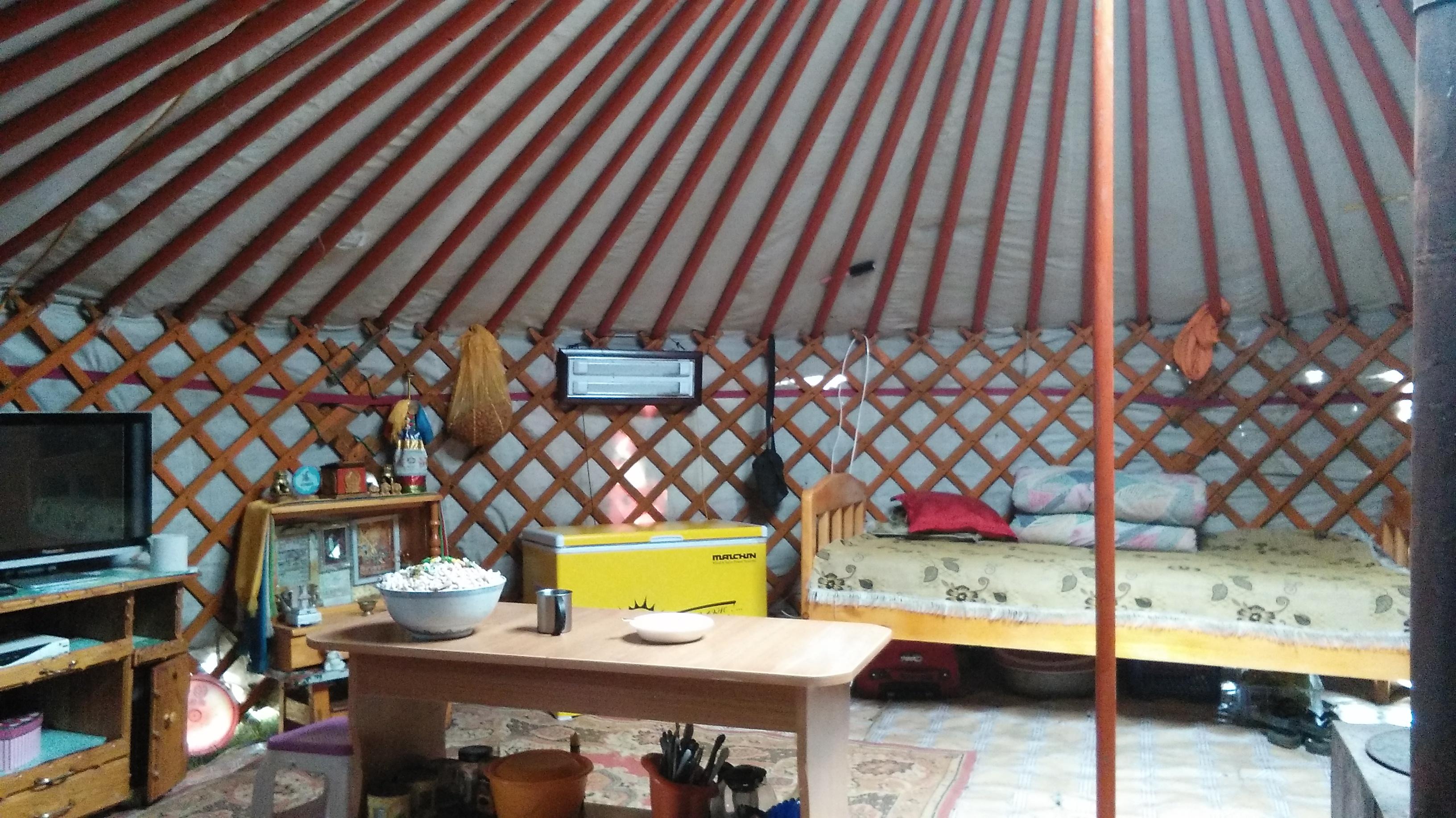Yurt for sleeping