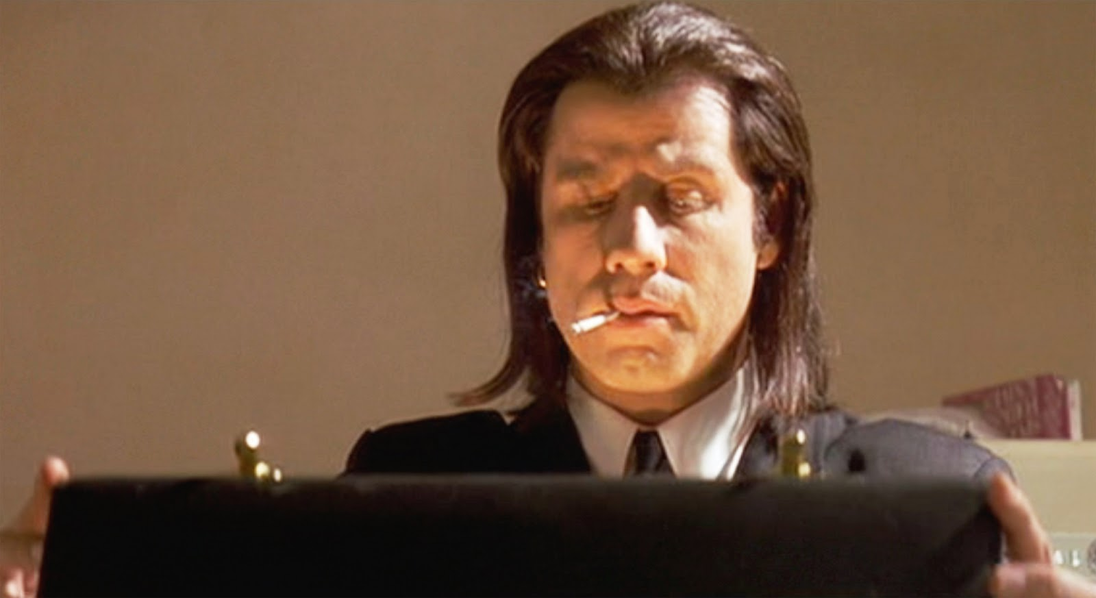 Vincent Vega just opened the suitcase - Pulp Fiction